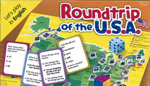 GAMES: [A2-B1]: ROUNDTRIP OF THE USA (AmE)