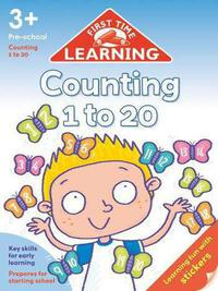 First Time Learning 3+: Counting 1 to 20