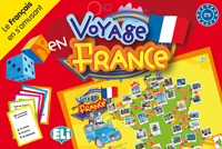 GAMES: [A2-B1]:  VOYAGE EN FRANCE (Путешествие по Франции (А2-В1))