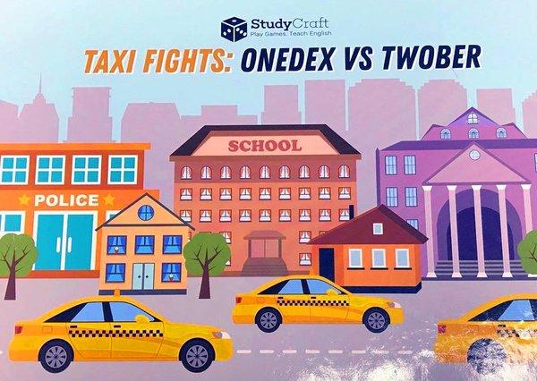 Elena Peresada, Irina Mudritsyna Taxi fights: Onedex vs Twober