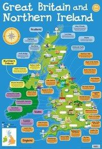 Wallcharts: Great Britain and Northern Ireland