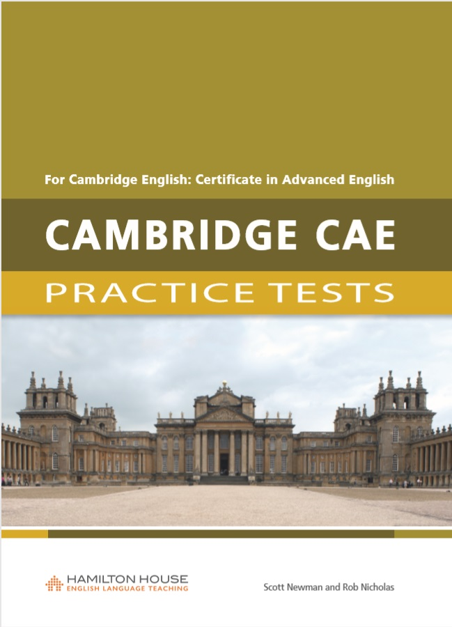 Scott Newman, Rob Nicholas Practice Tests for CAE: TB